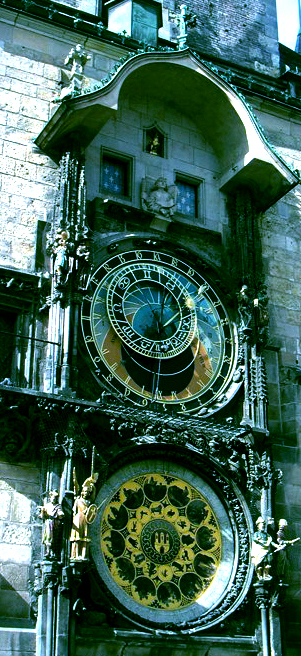 Prague astronomic clock